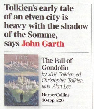Garth Fall of Gondolin review Times