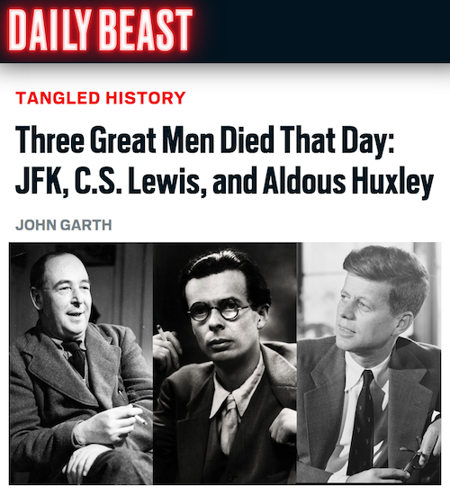 Three great men died that day – John Garth