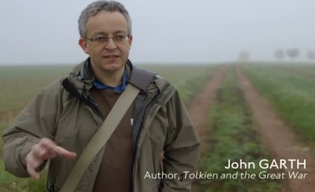 John Garth in War of Words: Soldier-Poets of the Somme (BBC 2014)